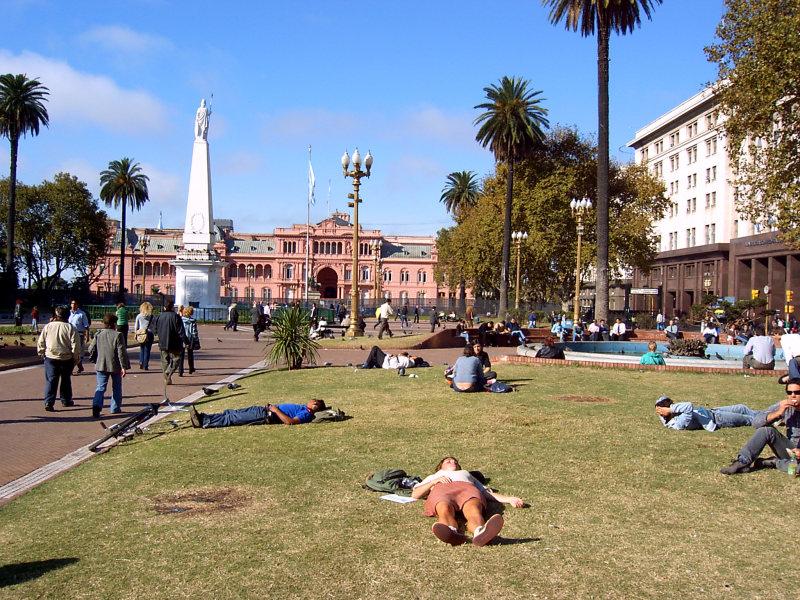 Plaza de Mayo, Buenos Aires, Argentinien