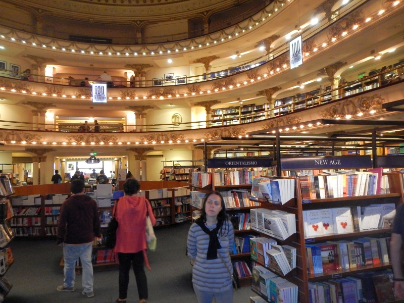 Al Ateneo Gran Splendid Buenos Aires