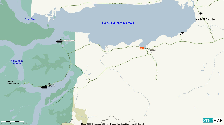 El Calafate und Perito Moreno