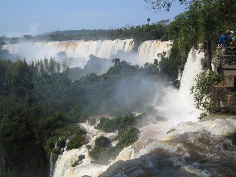 Iguazu Wasserfälle, Puerto Iguazu, Argentinien