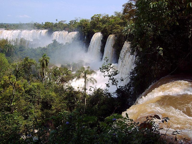 Iguazu-Wasserfälle, Puerto Iguazu, Argentinien