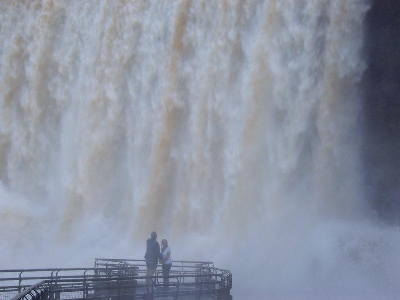 Aussichtsplatform Iguazu, Puerto Iguazu, Argentinien