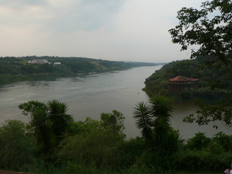 Río Paraná und Río Iguazú, Argentinien