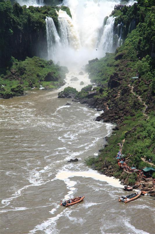 Iguacu Wasserfälle, Foz do Iguacu, Brasilien