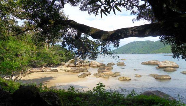 Einsame Buchten auf der Ilha Grande