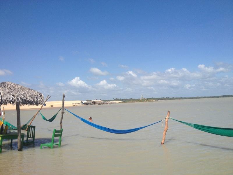 Jericoacoara Paradies Strand in Brasilien