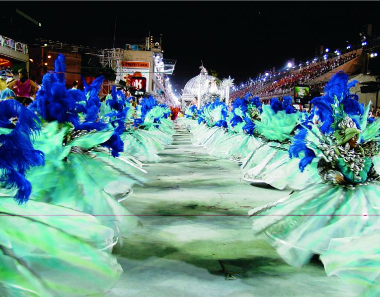 Karneval in Rio de Janeiro, Brasilien