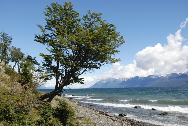 Lago Fagnano, Ushuaia, Argentinien