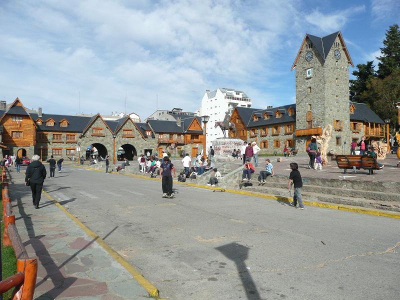 Zentrum von Bariloche, Argentinien