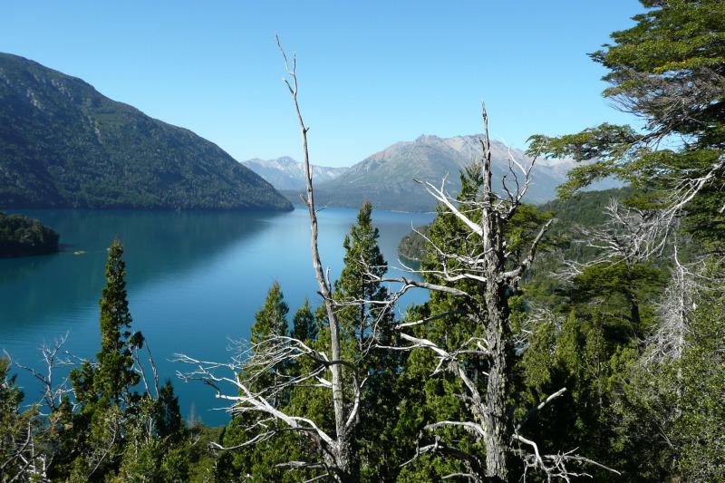 Lago Mascarti, Bariloche, Argentinien