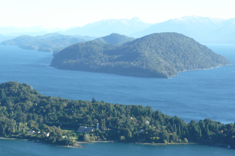 Lago Nahuel Huapi und Isla Victoria, Bariloche, Argentinien