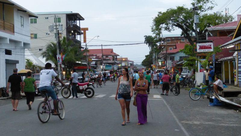 Hauptstraße Bocas del Toro, Panama