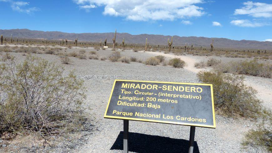 Nationalpark Los Cardones Argentinien