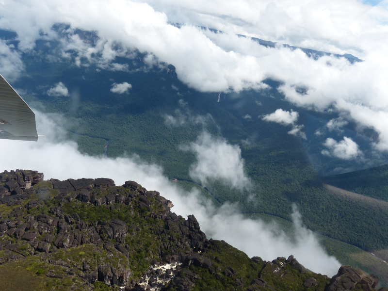 Landschaft Canaima, Venezuela