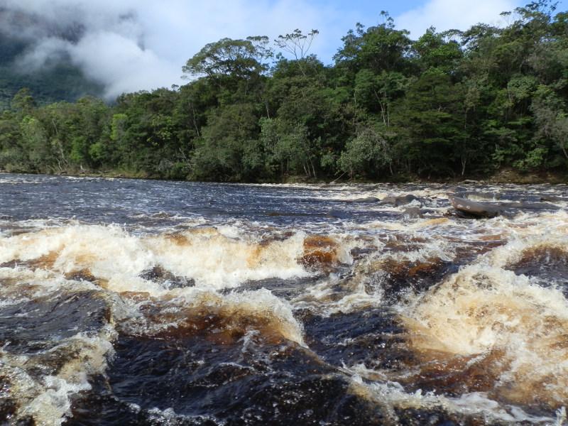 Río Churún, Canaima, Venezuela