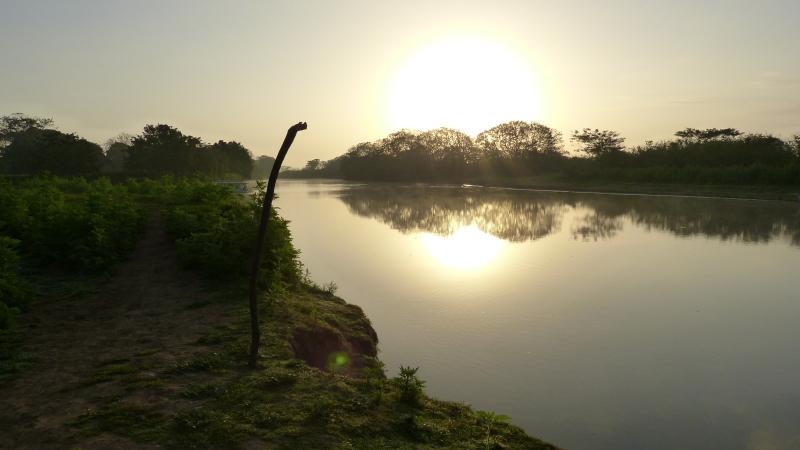 Fluss Rio Frio bei Caño Negro, Costa Rica