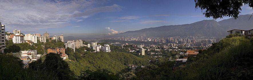 Zentrum von Caracas, Venezuela