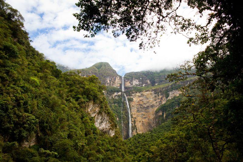 Gocta Wasserfall, Chachapoyas, Peru