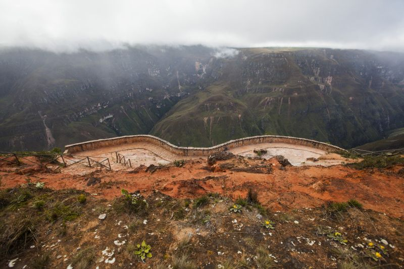 Mirador de Huancas, Chachapoyas, Peru