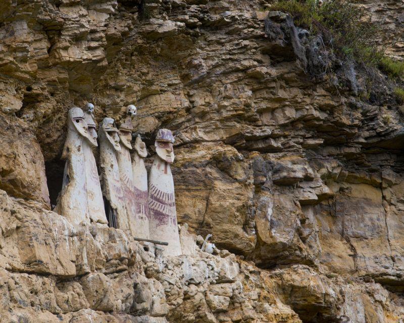 Sarkophage Karajia, Chachapoyas, Peru