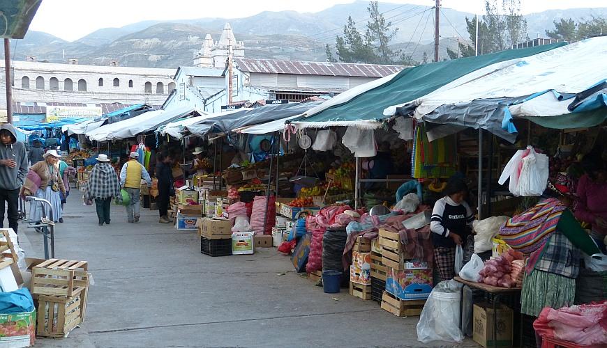 Chivay Peru, Markt