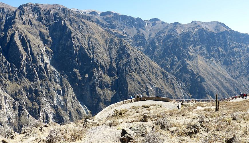 Colca Schlucht Peru