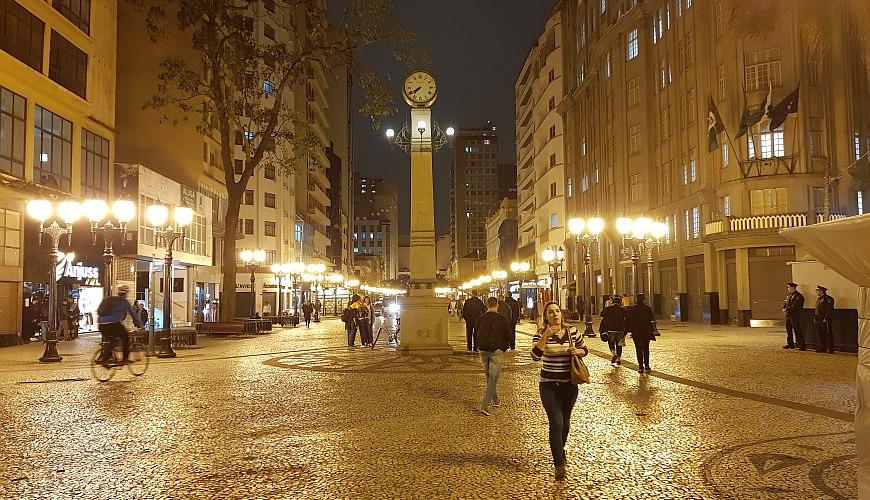 Fußgängerzone Curitiba
