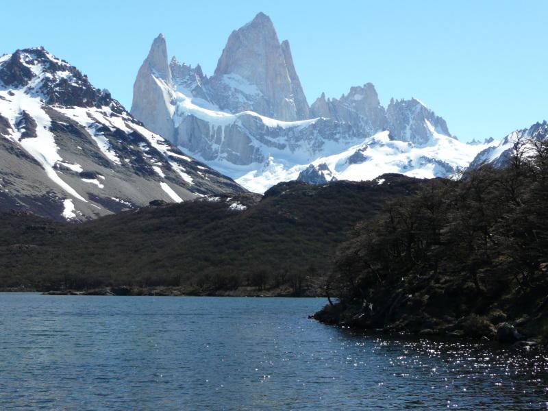 Gipfel Fitz Roy, El Chaltén, Argentinien