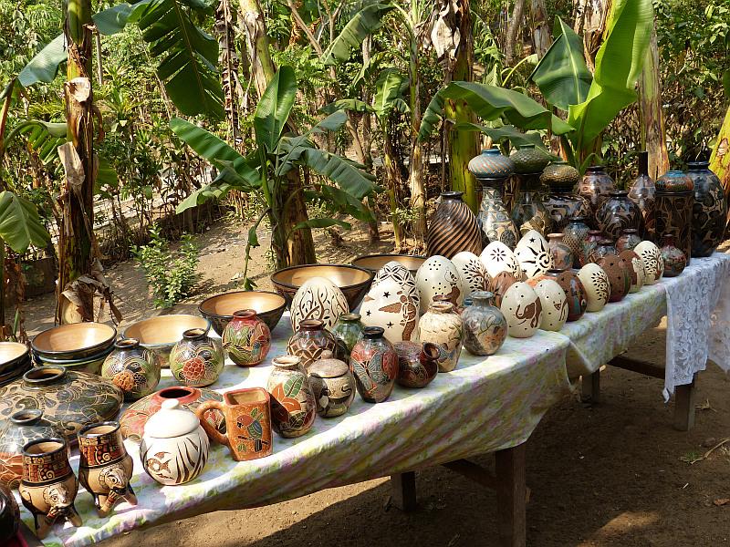 Keramik, Markt von Masaya, Granada, Nicaragua