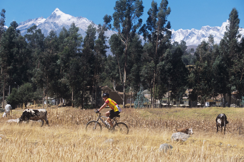 Mountainbiking, Huaraz, Peru