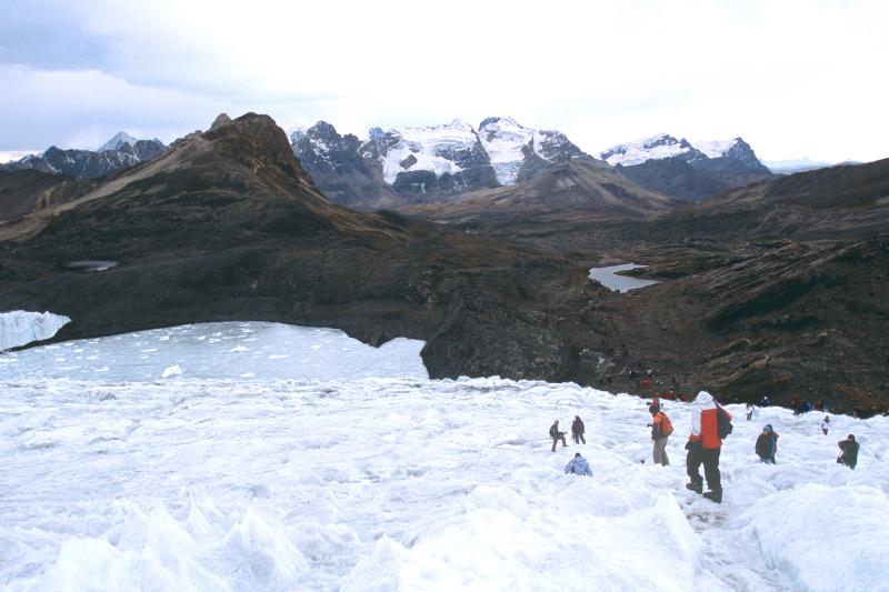 Patoruri Gletscher, Huaraz, Peru