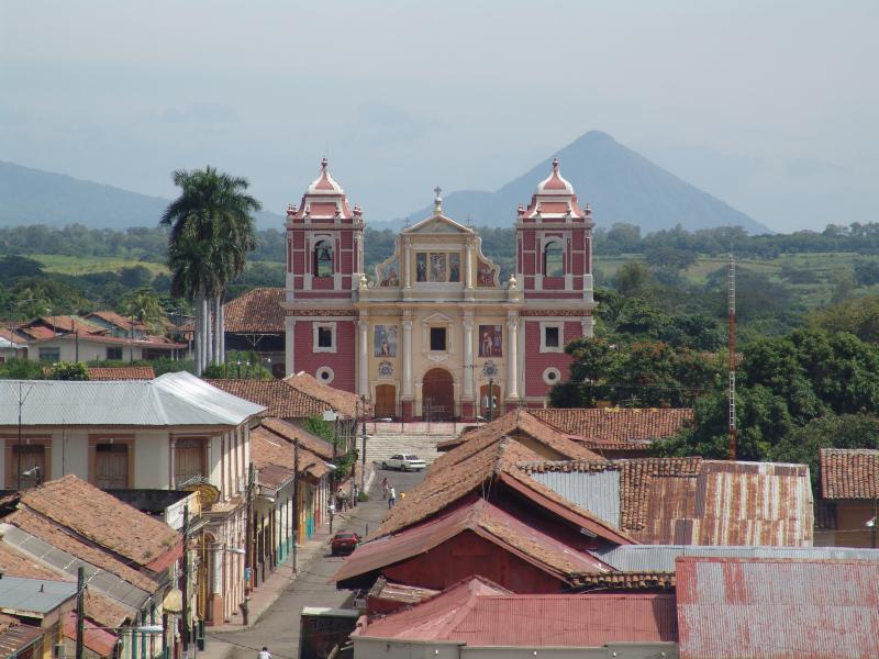 Kirche El Calvario, Leon, Nicaragua