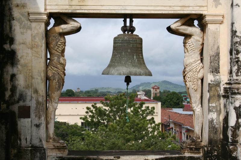 Ausblick von der Kathedrale, Leon, Nicaragua