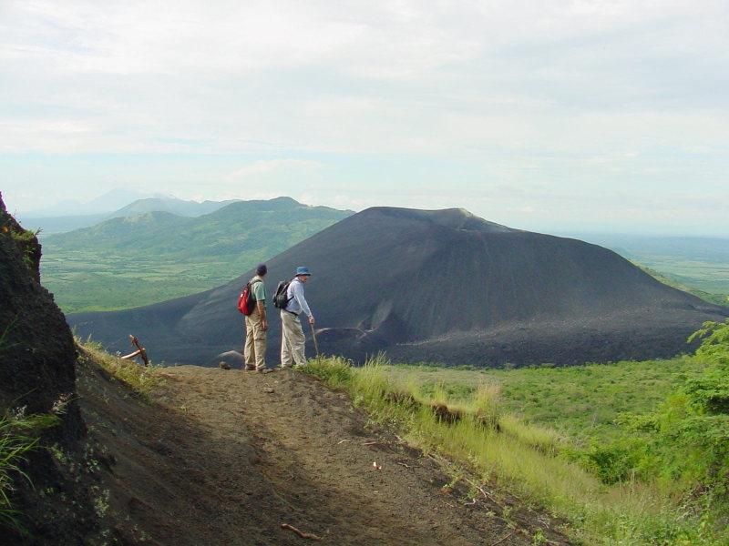 Wanderung zum Cerro Negro, Leon, Nicaragua