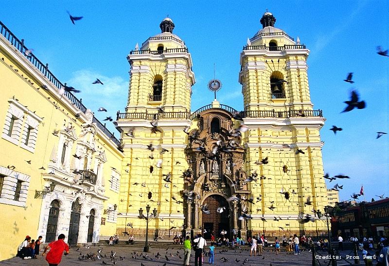 San Francisco Kloster, Lima, Peru - Reiseinformationen