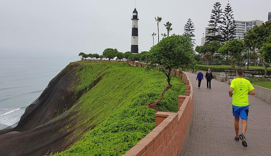 Lima Laufstrecke Costanera Verde