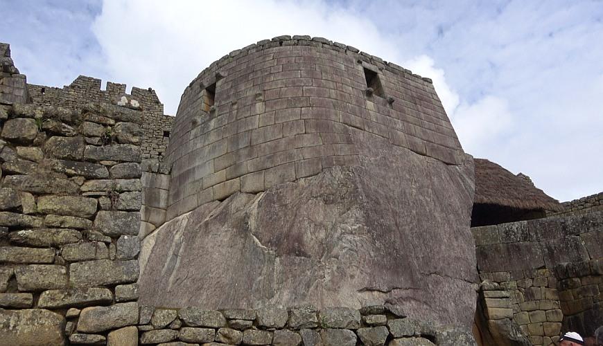 Besuch Machu Picchu, Peru