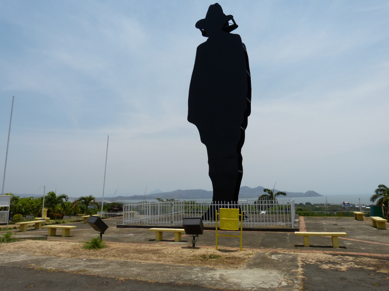 Monument Augusto Cesar Sandino, Managua, Nicaragua
