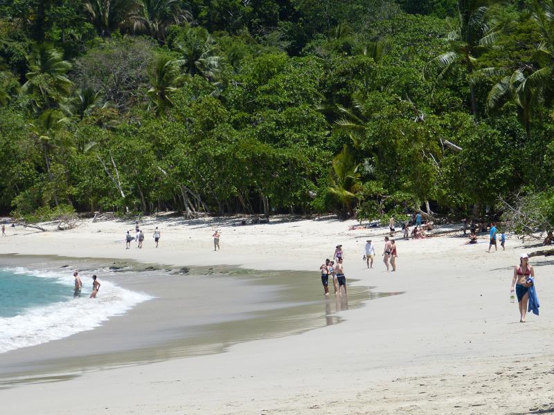 Strand Playa Espadilla Manuel Antonio, Reiseinformationen Costa Rica
