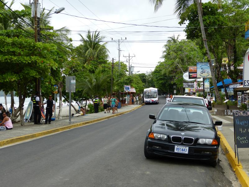 Promenade am Strand Playa Manuel Antonio, Reiseinformationen  Costa Rica