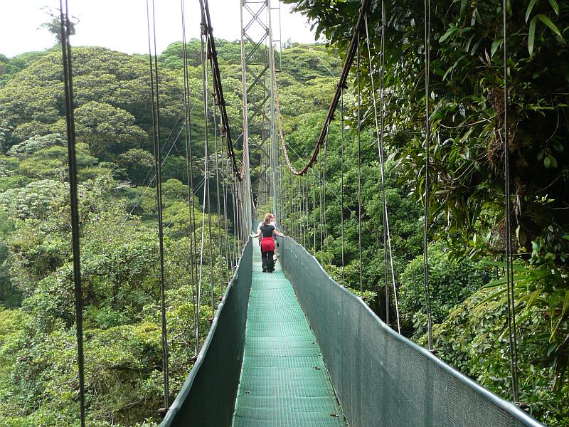 Selvatura Hängebrücke Monteverde Regenwald Costa Rica, Reiseinformationen Costa Rica
