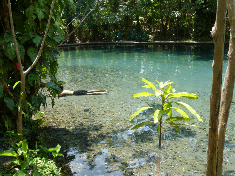 Ojo de Aguas, Isla Ometepe, Nicaragua