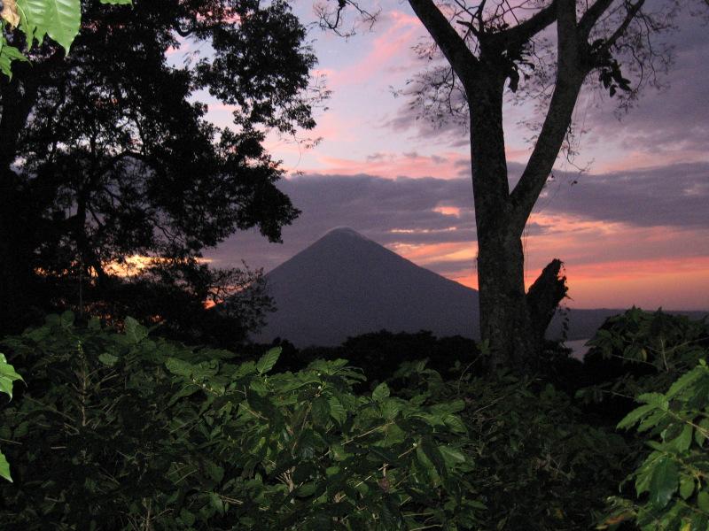 Sonnenuntergang, Isla Ometepe, Nicaragua
