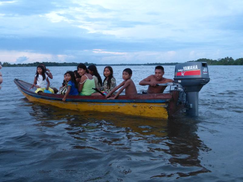 Waroa, Orinoco Delta, Venezuela