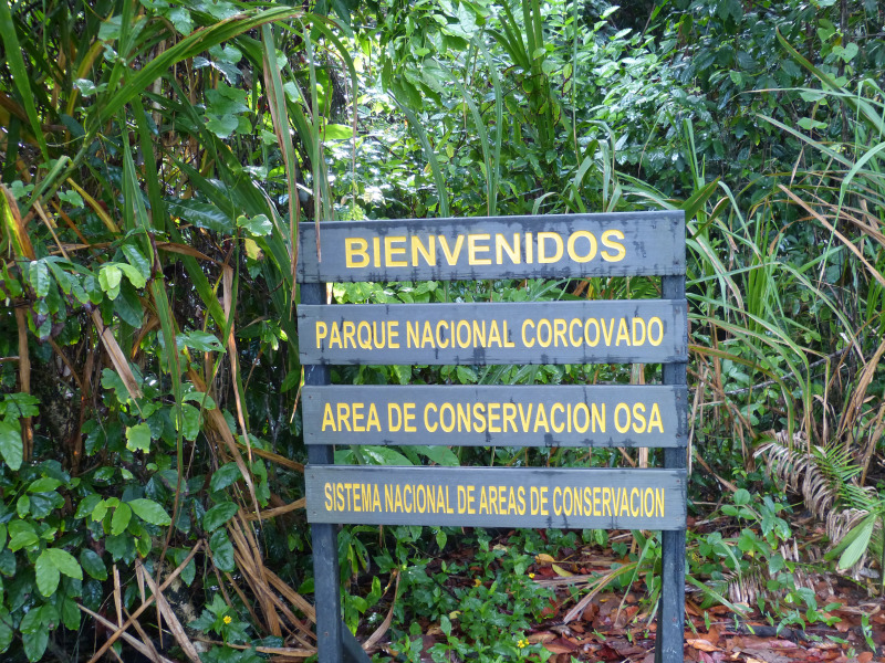 Nationalpark Corcovado auf Halbinsel Osa, Costa Rica