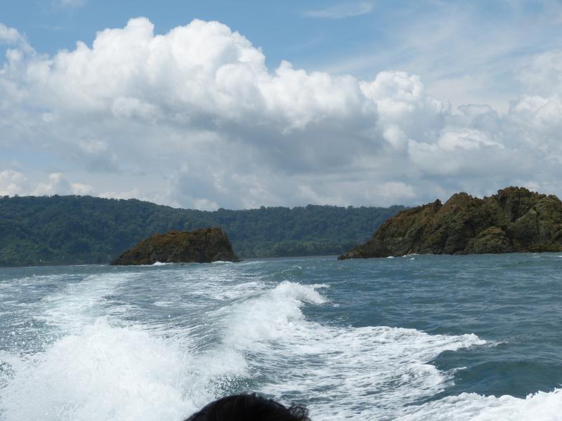 Anreise per Boot von Sierpe nach Drake Halbinsel Osa, Costa Rica