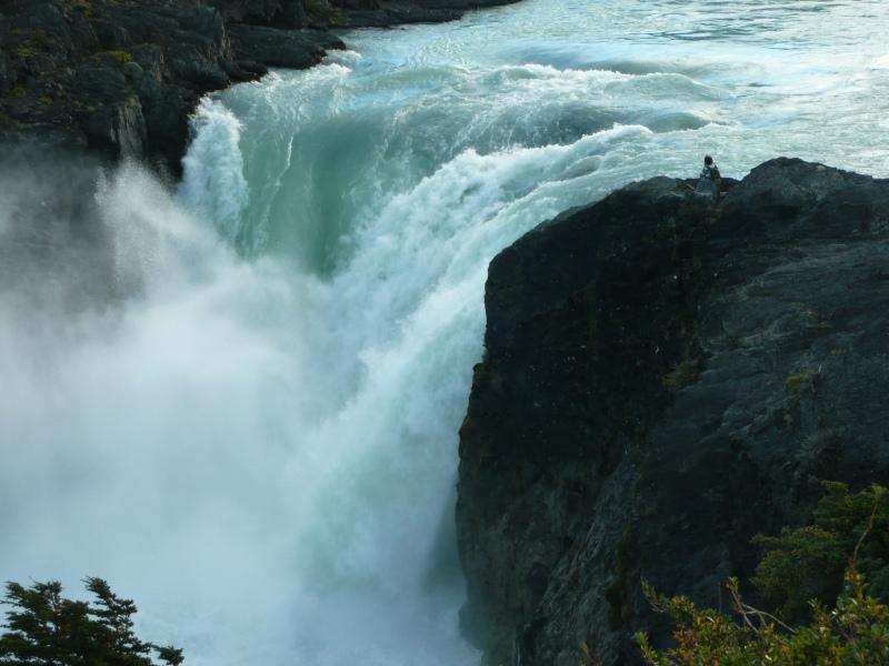 Wasserfall Salto Grande, Patagonien Chile