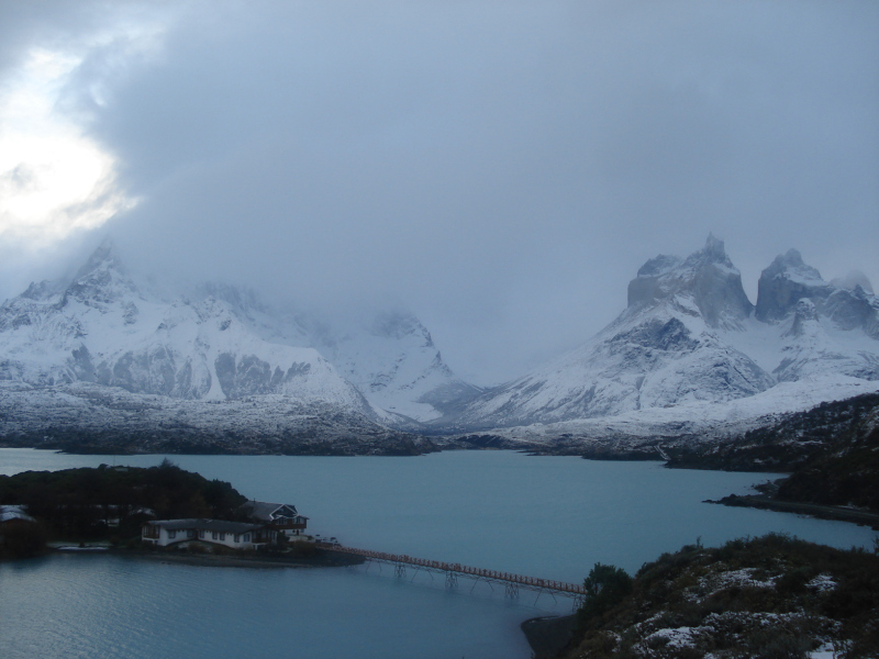 Paine Nationalpark im Winter, Patagonien, Chile