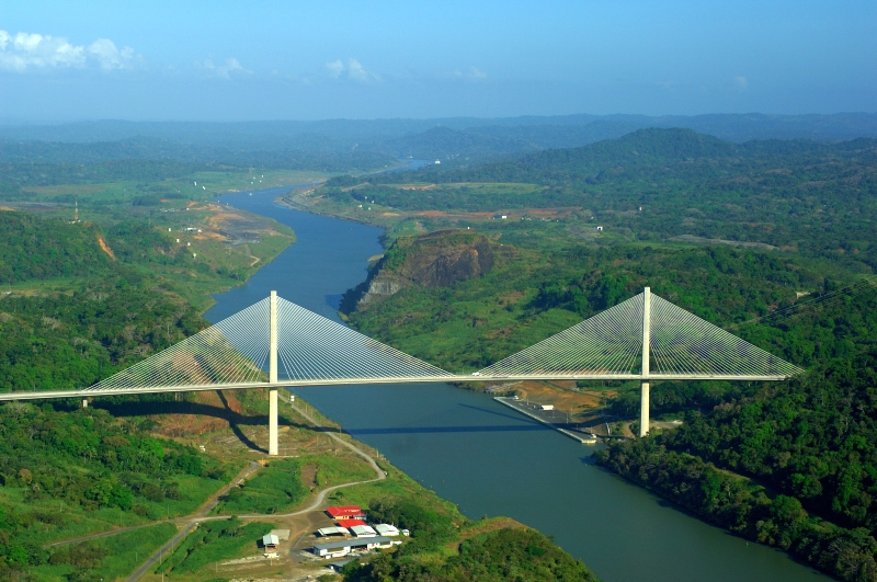 Brücke Puente Centenario Panama City, Panama Stadt
