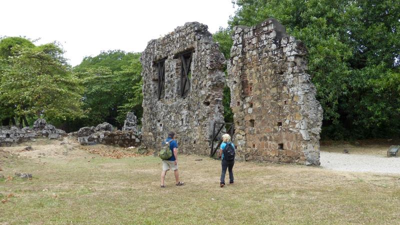 Ruinen Panama Viejo, Panama Stadt